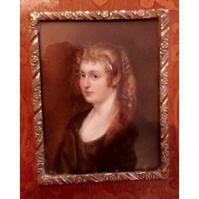 Portretje van dame (verkocht)