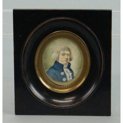 Hollandse school - Portretje van een heer